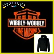wibbly wobbly time machine hoodie